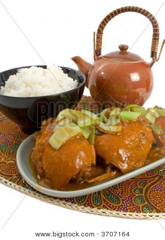 Apricot Chicken And Rice