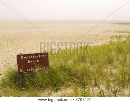 Unprotected Beach