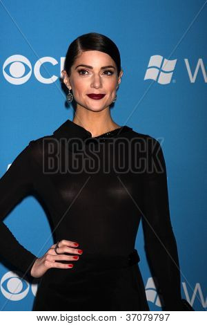 LOS ANGELES - SEP 15:  Janet Montgomery arrives at the CBS 2012 Fall Premiere Party  at Greystone Manor on September 15, 2012 in Los Angeles, CA