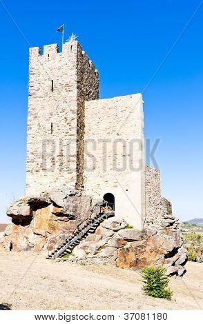 castle of Mogadouro, Tras-os-Montes, Portugal