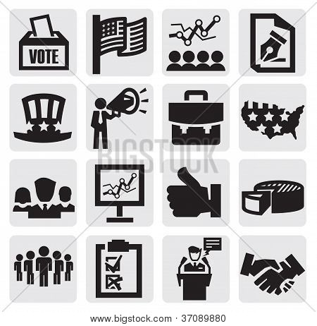 Ícones de eleição