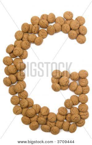 Ginger Nut Alphabet G