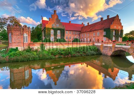 Renaissance Trolle-Ljungby Castle  in southern Sweden