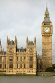 Big Ben Elizabeth tower Houses of Parliament London.