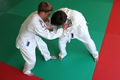 foto of judo  - Judo fight - JPG