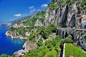 stunning view of Amalfi coast