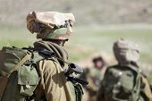 Israel Defense Forces - Paratroopers brigade during training