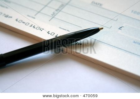 Schreiben Sie einen Scheck