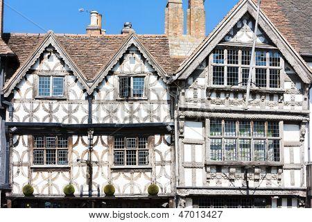 Garrick Inn and Harvard House, Stratford-upon-Avon, Warwickshire, England