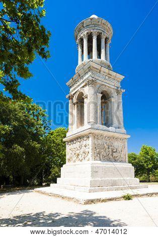 Roman Mausoleum, Glanum, Saint-Remy-de-Provence, Provence, France