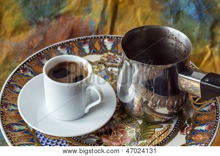 Turkish, Greek Coffee