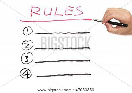Rules List