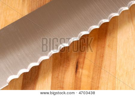 Serated Knife Blade