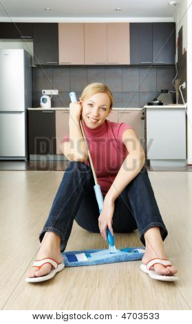 Cleaning A Flat