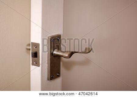 Room door handle