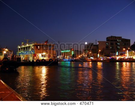 Harbor By Night