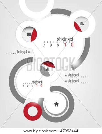 eps10 vector infographics concept background
