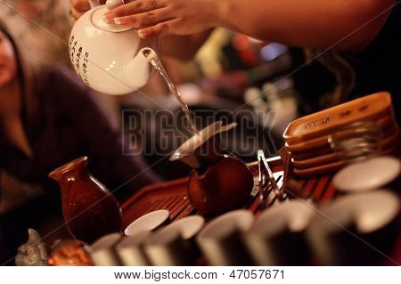 Making Of Tea