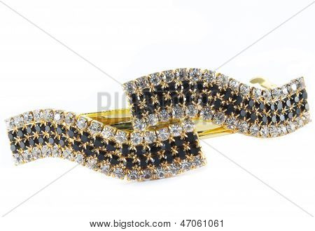 Yellow barrette