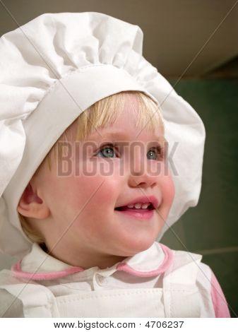 Girl In Hubcap Smiles