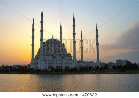 Mezquita de cielo