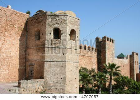 City-wall Of Rabat