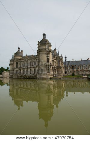 Castle Of Chantilly In France - Rear View (3)