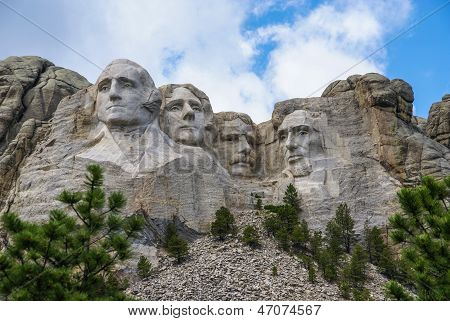 Mount Rushmore, South Dakota.  Taken July 2009.