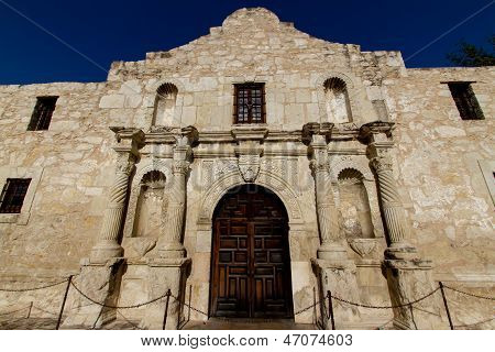 The Historic Alamo, near Sunset, in San Antonio, Texas.  Taken May 26, 2011.
