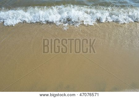 Sand And Water Background