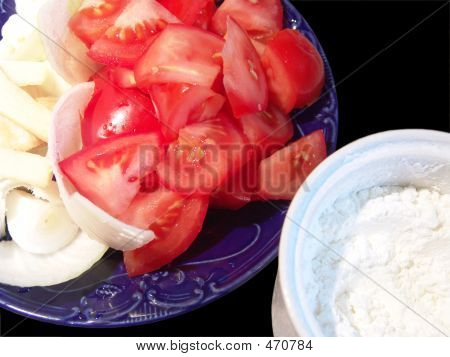 Tomato Onion Corn Starch