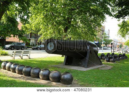 20 inch Parrott Cannon in Bay Ridge area of Brooklyn