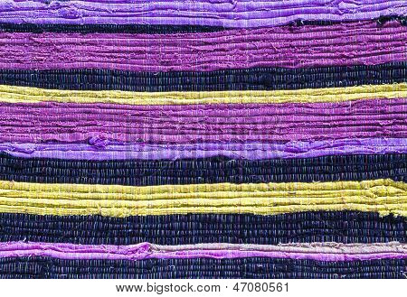Fabric Colourful Pattern
