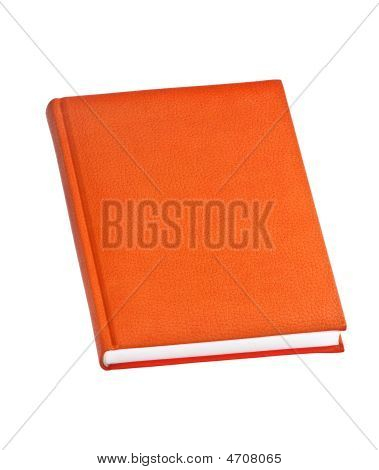 Orange Hard Cover Book