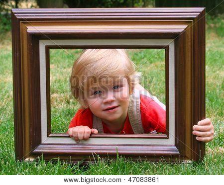 Boy In Frame