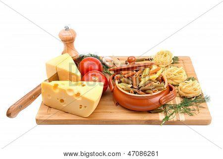 Food And Kitchen Utensils