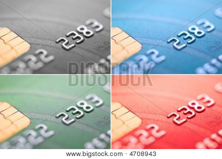 Credit Card Four Color