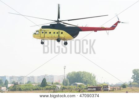 mi 8 helicopter landing