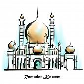 pic of hari raya  - Illustration of Mosque - JPG