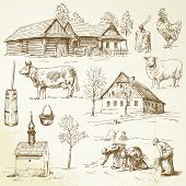 picture of hen house  - farm - JPG