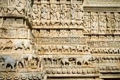 image of jagannath  - Carvings of the Jagdish Temple in Udaipur - JPG