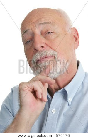 Senior Man - Skeptical