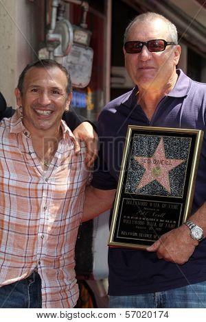 Ray Mancini, Ed O'Neill at the Ed O'Neill Hollywood Walk Of Fame Induction Ceremony, Hollywood, CA. 08-30-11