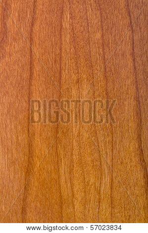 Laminate Cherry Wood Varnished
