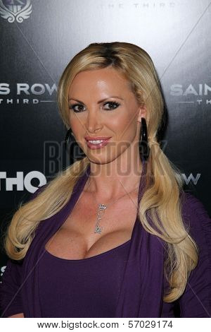Nikki Benz at the Saints Row: The Third Game Pre-Launch Event, Supperclub, Hollywood, CA. 10-12-11