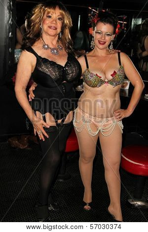Kitten Natividad and Penny Starr Jr. at LOVE BITES: A Banned Erotica Showcase,  presented by PEN Center USA and Playboy, The Comedy Store, West Hollywood, CA. 09-30-11