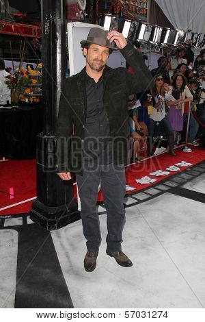 Patrick Dempsey at the World Premiere Of