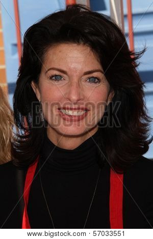 Joan Severence at the Hollywood Chamber Of Commerce 17th Annual Police And Fire BBQ, Private Location, Hollywood, CA 11-30-11