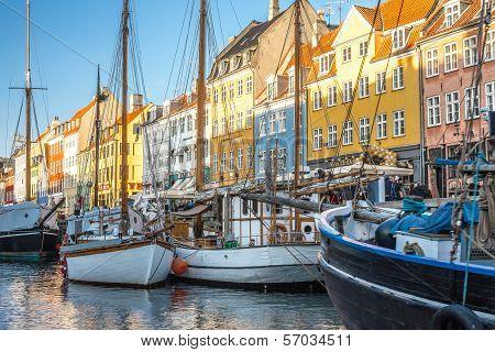 Vessels at Nyhavn
