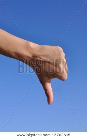 Frau hand